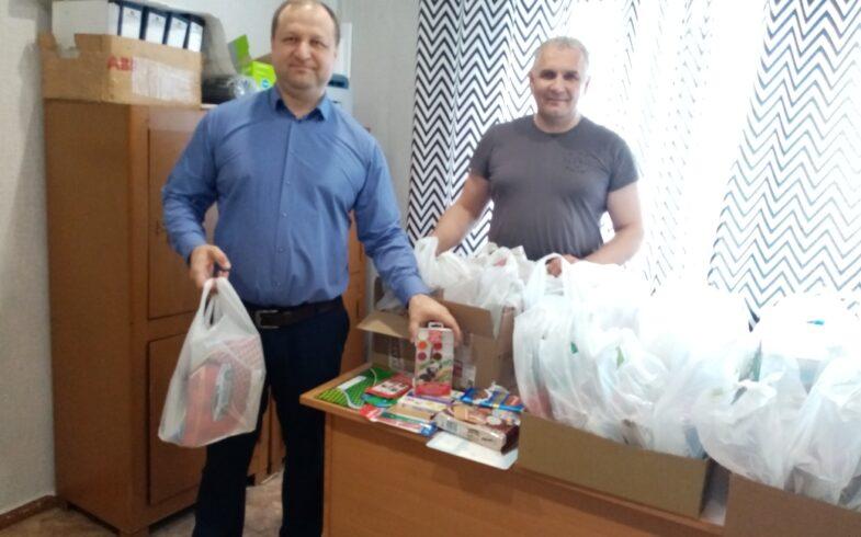 Руководство Липецкого регионального отделения «Союз садоводов России»  приняло участие в благотворительной акции