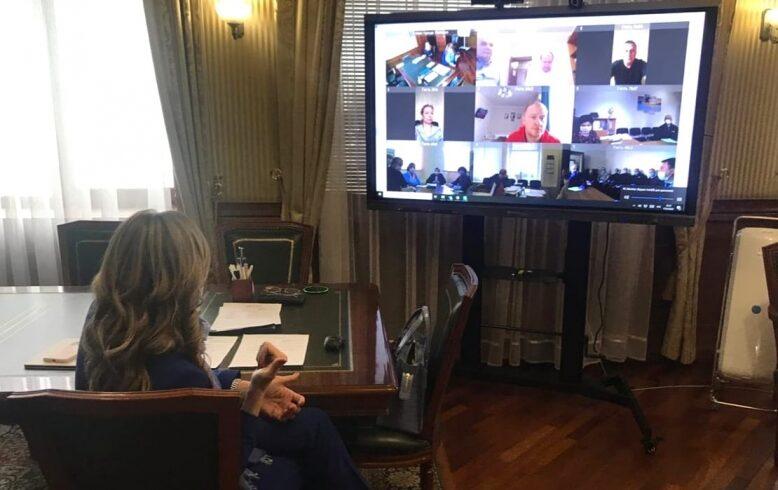 Руководство Липецкого регионального отделения приняло участие в совещании в режиме видеоконференции с главой города Липецка
