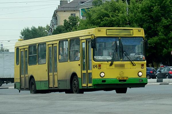 В Липецке из-за марафона изменится схема движения автобусов