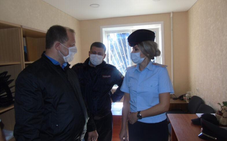Представители общественности ознакомились с работой Отдела полиции № 5 УМВД России по г. Липецку и участковых пунктов полиции