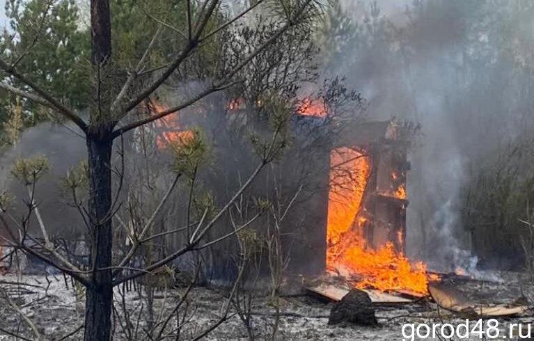 Возгорание в «Металлург-5» тушили добровольцы