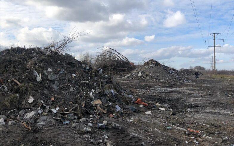 По требованию Липецкой межрайонной природоохранной прокуратуры несанкционированная свалка на окраине Липецка будет ликвидирована