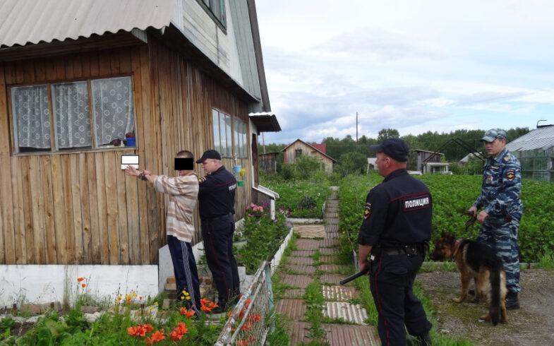 В Липецке полицейские задержали подозреваемого в серии краж из садовых домиков